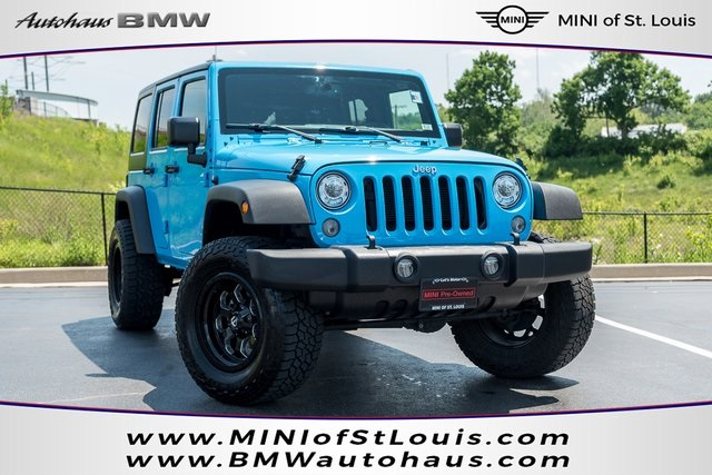 Pre Owned 2017 Jeep Wrangler Unlimited Sport S