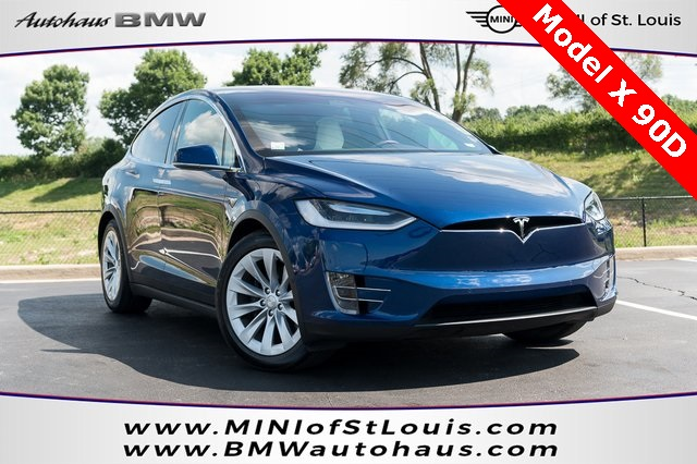 Pre-Owned 2017 Tesla Model X 90D