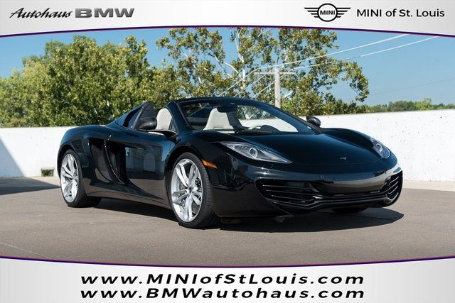 Pre-Owned 2013 McLaren MP4-12C Spider 2D Convertible in Saint Louis ...