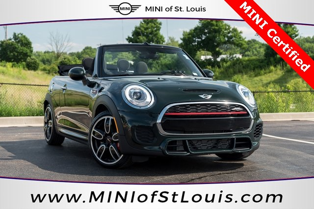 Certified Pre-Owned 2017 MINI John Cooper Works Convertible